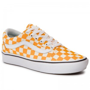 Vans Tennis Comfycush Old Sko VN0A3WMAVNC1 (Checker) Zinnia/True Wht