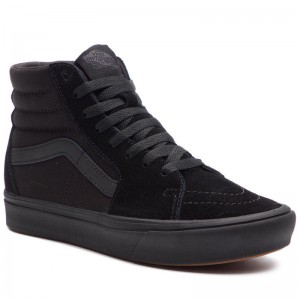 Black Friday 2020 | Vans Sneakers Comfycush Sk8-Hi VN0A3WMBVND1 (Classic) Black/Black