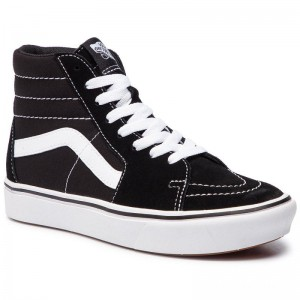 Black Friday 2020 | Vans Sneakers Comfycush Sk8-Hi VN0A3WMBVNE1 (Classic) Black/True Whit