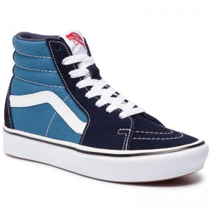 Black Friday 2020 | Vans Sneakers Comfycush Sk8-Hi VN0A3WMBVNT1 (Classic) Navy/Stv Navy