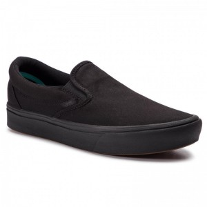 Black Friday 2020 | Vans Tennis Comfycush Slip-On VN0A3WMDVND1 (Classic) Black/Black