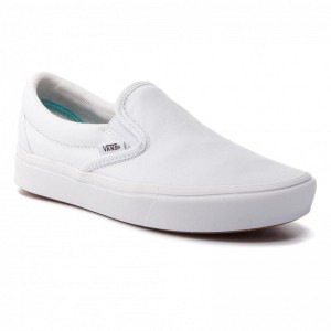 Black Friday 2020 | Vans Tennis Comfycush Slip-On VN0A3WMDVNG1 True White/True