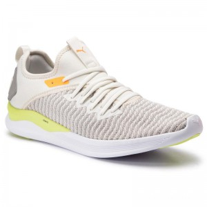 Black Friday 2020 | Puma Chaussures Ignite Flash Daylight 192512 01 Vaporous Gray/Drizzle/Yellow