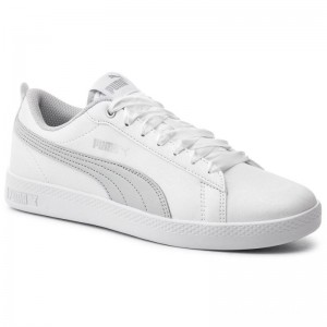 Puma Sneakers Smash Wns V2 Summer Pac 369130 02 White/Gray Violet/Silver