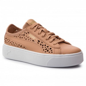 Puma Sneakers Vikky Stacked Laser Cut 369378 03 Toast/Toast