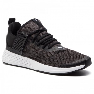 Puma Chaussures Insurge Heather 369482 01 Black/Asphalt/White