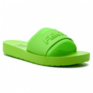Black Friday 2020 | Puma Mules / sandales de bain Fenty Surf Slide Wns 367747 04 Green Gecko/Green Gecko