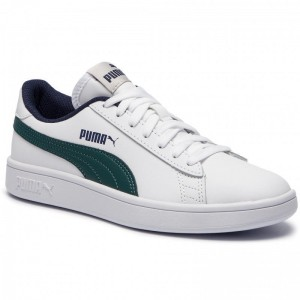 Black Friday 2020 | Puma Sneakers Smash V2 L Jr 365170 10 White/Ponderosa Pine
