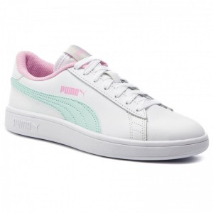 Puma Sneakers Smash V2 L Jr 365170 11 White/Fair Aqua/Pale Pink