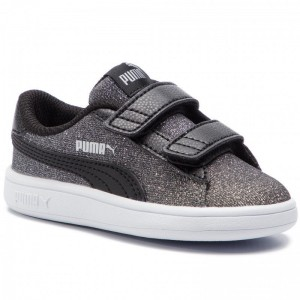 Black Friday 2020 | Puma Sneakers Smash V2 Glitz Glam V Inf 367380 05 Black/Puma Silver
