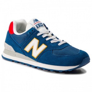 New Balance Sneakers ML574OBA Bleu marine