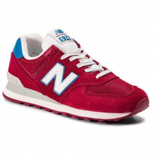 New Balance Sneakers ML574OBC Bordeaux