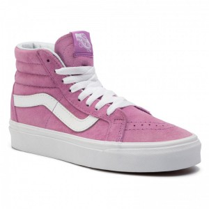 Black Friday 2020 | Vans Tennis Sk8-Hi Reissue VN0A2XSBU5O1 (Pig Suede) Violet/True W