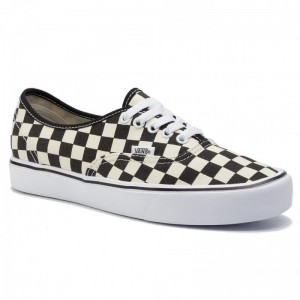 Black Friday 2020 | Vans Tennis Authentic Lite (C) VN0A2Z5J5GX (Checkerboard) Black/White