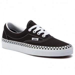 Black Friday 2020 | Vans Tennis Era VN0A38FRVOS1M (Check Foxing) Black/True