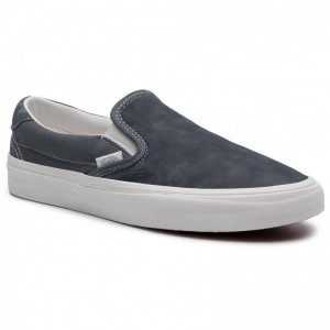 Black Friday 2020 | Vans Tennis Slip-On 59 VN0A38GUVT01 (Washed Nubuck/Canvas) Eb
