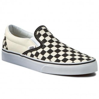 Vans Tennis Classic Slip-On VN-0EYEBWW Blk&Whtchckerboard/Wht