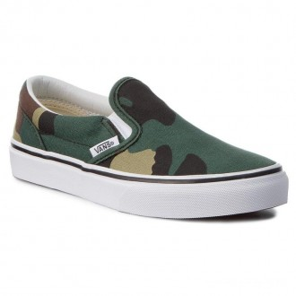 [Vente] Vans Tennis Classic Slip-On VN0A32QINRA (Woodland Camo) Bk/Woodlnd