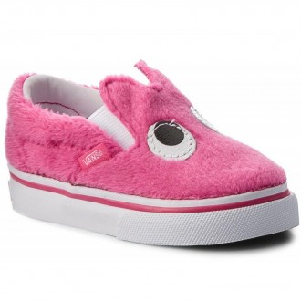 Vans Chaussures basses Slip-On Friend VN0A3TK4U4U (Party Fur) Magenta/True