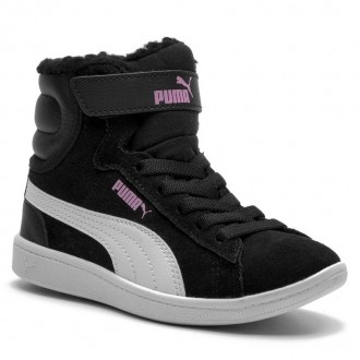 Puma Boots Vikky Mid Fur V PS 366854 01 Black/Puma White