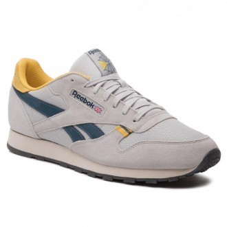 Reebok Chaussures Cl Leather Mu CN7177 Steel/Yellow/Blue/Grey