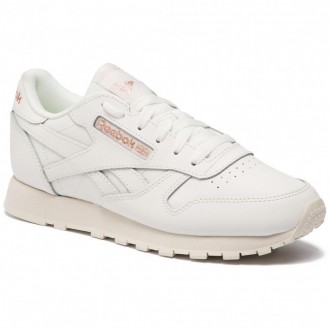 Reebok Chaussures Cl Lthr DV3762 Chalk/Rose Gold/Paper Whi