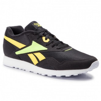 Black Friday 2020 | Reebok Chaussures Rapide Mu DV3806 Blk/Yellow/Neon Lime/Wht