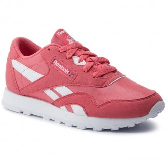 Black Friday 2020 | Reebok Chaussures Cl Nylon Mu Junior CN7626 Bright Rose/White