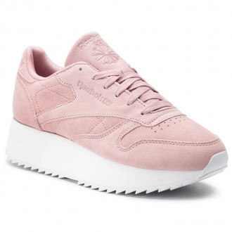Reebok Chaussures Cl Lthr Double DV3628 Smoky Rose/White