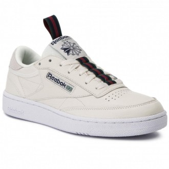 Reebok Chaussures Club C 85 Mu CN6863 Chalk/Navy/Green/Red