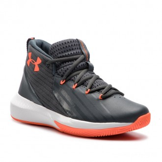 Under Armour Chaussures Ua Bgs Lockdown 3 3020430-102 Gry