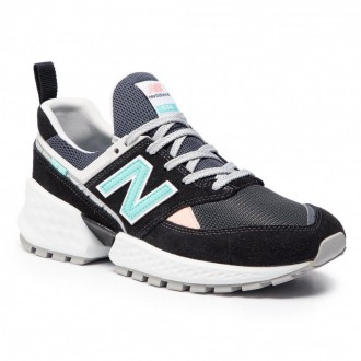 [Vente] New Balance Sneakers MS574GNB Multicolore Noir