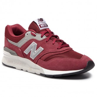[Vente] New Balance Sneakers CM997HCD Bordeaux