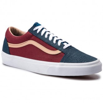 Vans Tennis Old Skool VN0A38G1VMN1 (Textured Suede) Sailor B