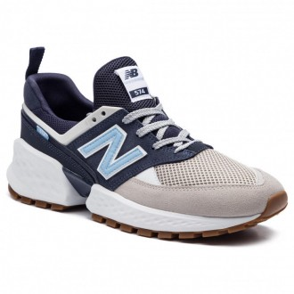 New Balance Sneakers MS574JUA Bleu marine Multicolore