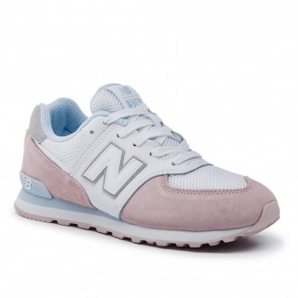 [Vente] New Balance Sneakers GC574NSE Blanc Rose