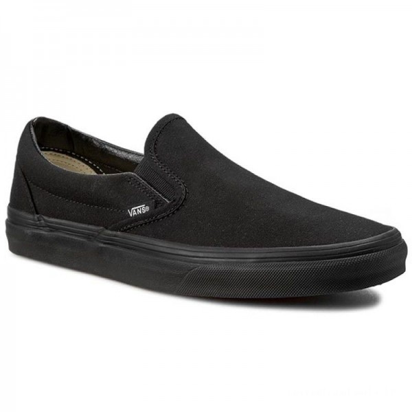 Vans Tennis Classic Slip-On VN-0EYEBKA Black