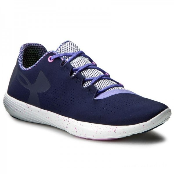 Under Armour Chaussures Ua W Street Precision Lo Exp 1284741-410 Mdn/Vts/Mdm