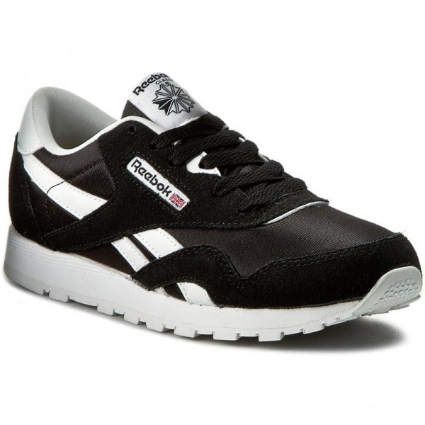 Black Friday 2020 | Reebok Chaussures Cl Nylon J21507 Black/White
