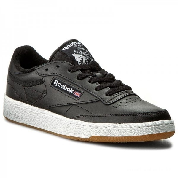 Reebok Chaussures Club C 85 AR0458 Black/White/Gum