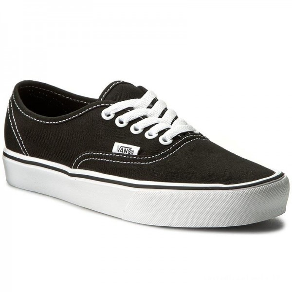 Black Friday 2020 | Vans Tennis Authentic Lite VN0A2Z5J187 (Canvas) Black/White