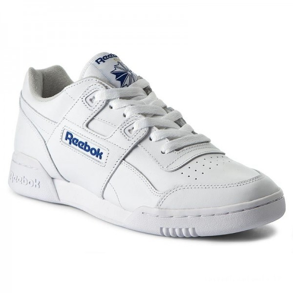 Black Friday 2020 | Reebok Chaussures Workout Plus 2759 Wht/Royal