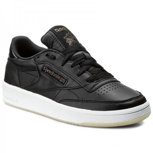 Reebok Chaussures Club C 85 Lthr BD5816 Black/White/Ice