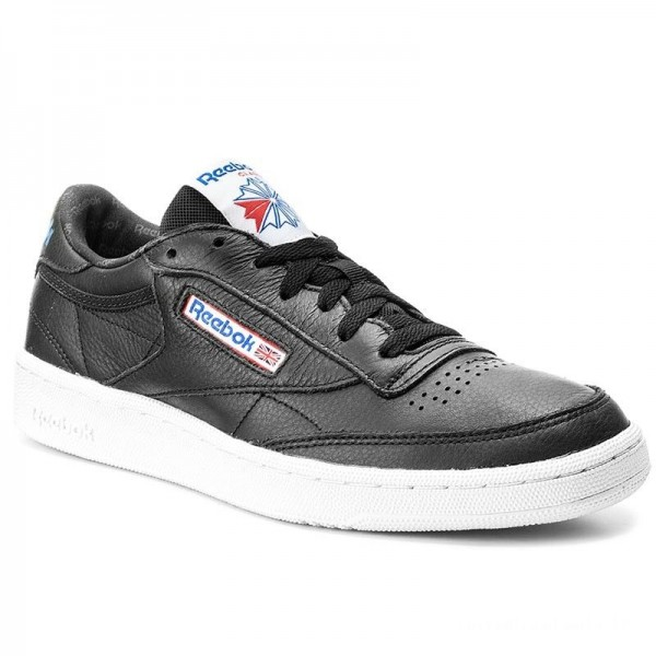 Reebok Chaussures Club C 85 S0 BS5213 Black/White/Vital Blue