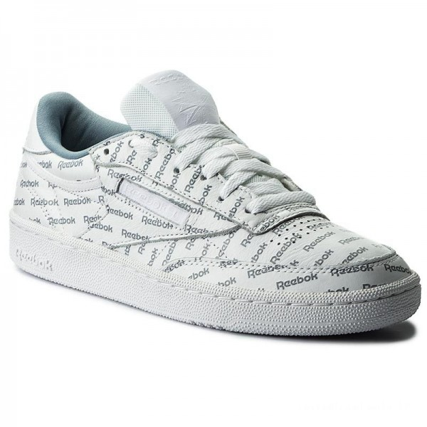 Reebok Chaussures Club C 85 So BS5215 White/Mtr Grey/Prml Red