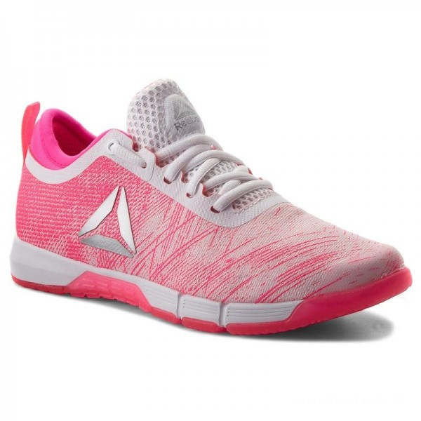 Black Friday 2020 | Reebok Chaussures Speed Her Tr CN2246 Pink/White/Silver