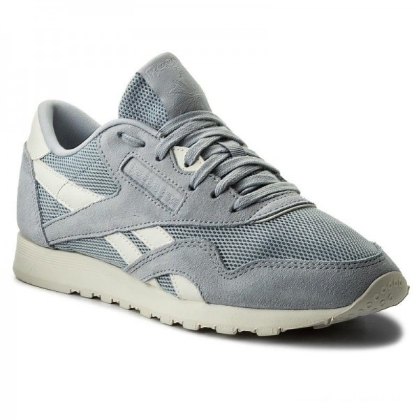 Reebok Chaussures Cl Nylon Mesh CN0632 Cloud Grey/Chalk