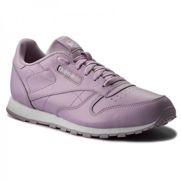 Reebok Chaussures Classic Leather Metallic CN0878 Moonglow/White