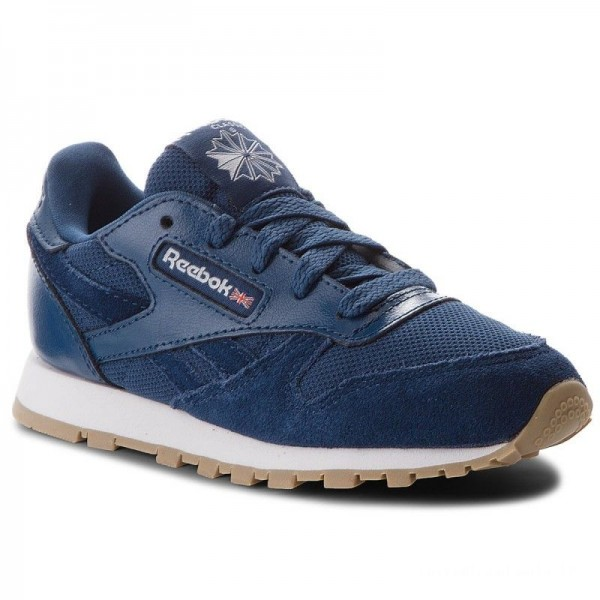 Reebok Chaussures Cl Leather Estl CN1136 Washed Blue/White