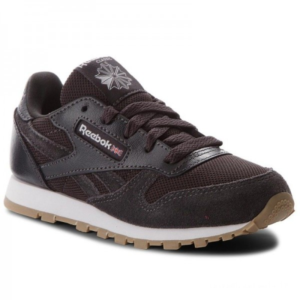 Reebok Chaussures Cl Leather Estl CN1143 Coal/White
